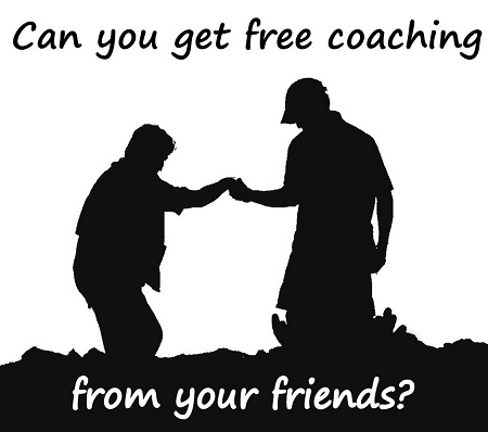 """Can you get free coaching from your friends?"" A guest post by Chris Morris"