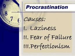 Julia Neiman guest post about Procrastination